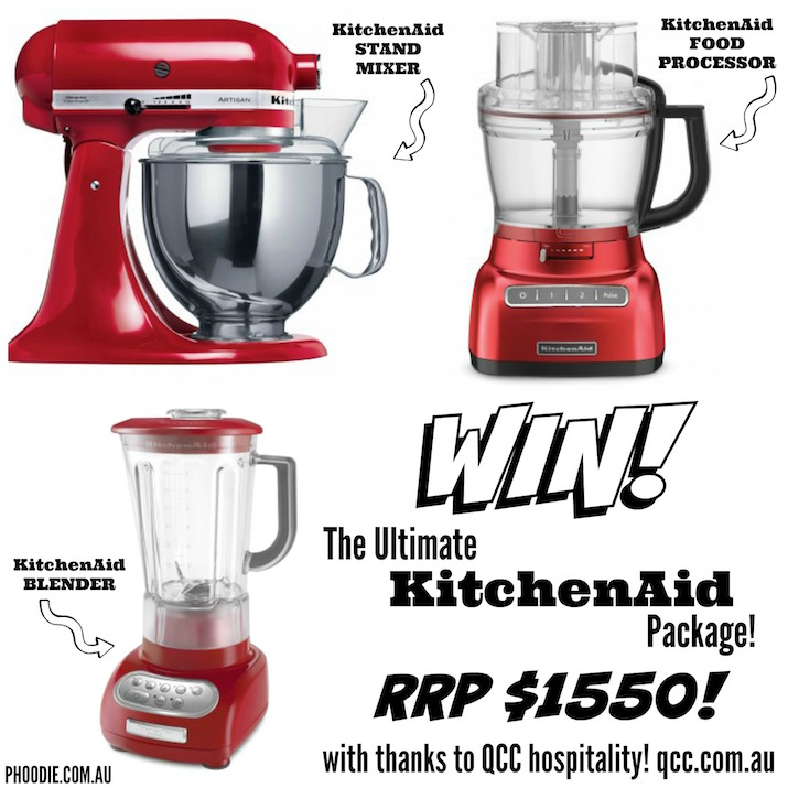 Qcc X Phoodie Giveaway The Ultimate Kitchenaid Package